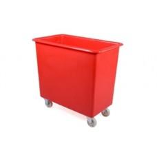 Wheeled Plastic Tub, 190Ltr